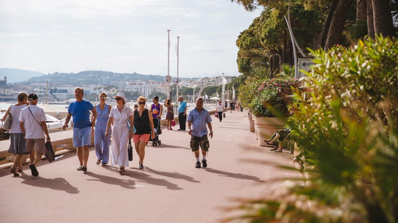Boulevard de la Croisette, Cannes, France
