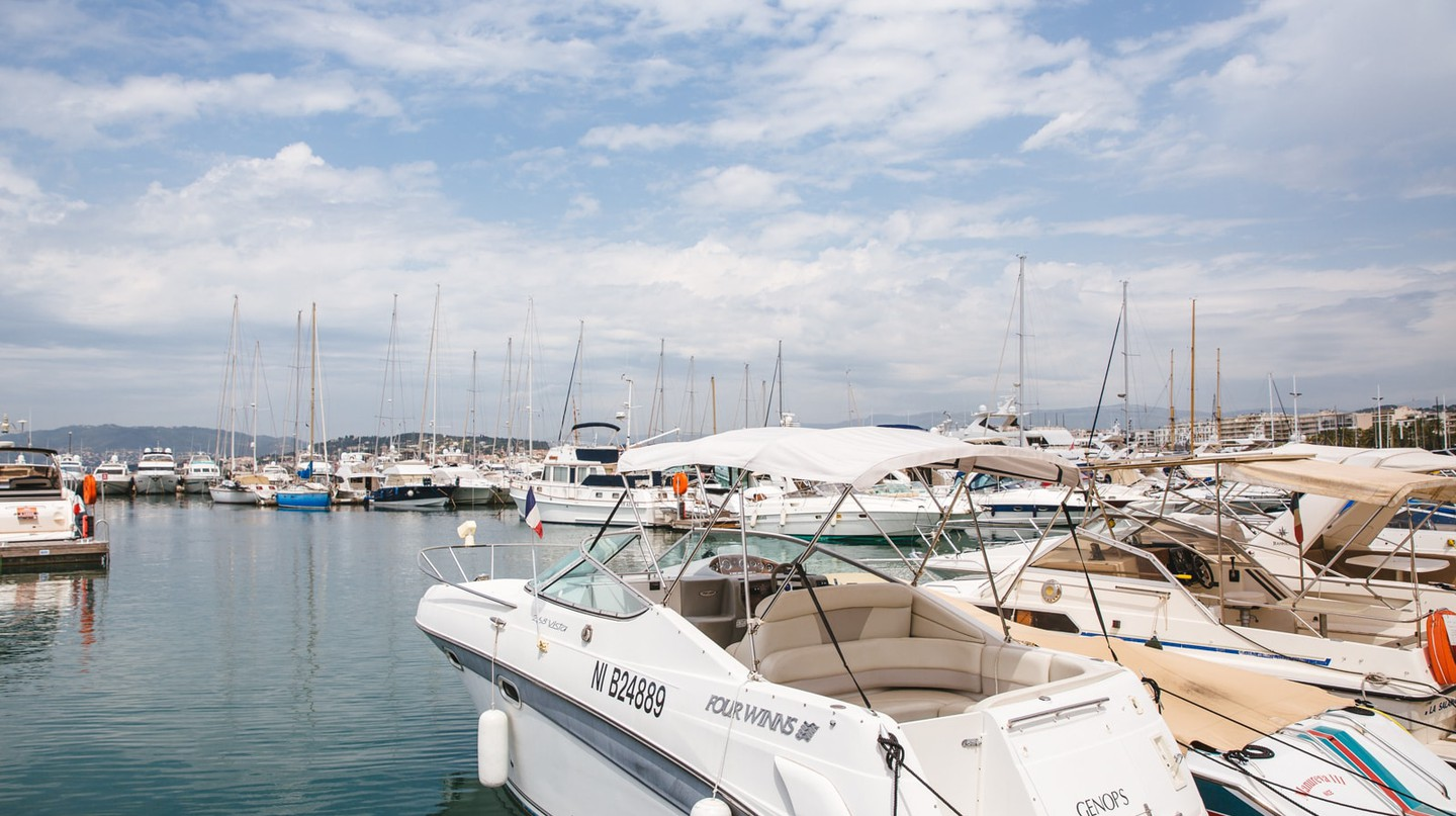 Port Pierre Canto, Cannes, France