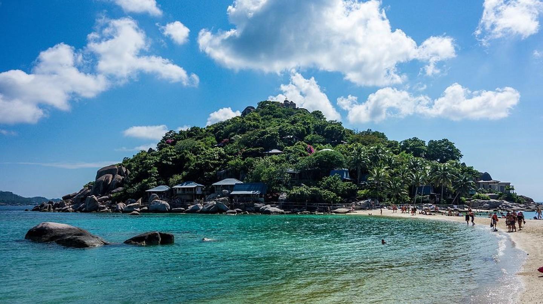 The beautiful beaches of Koh Tao