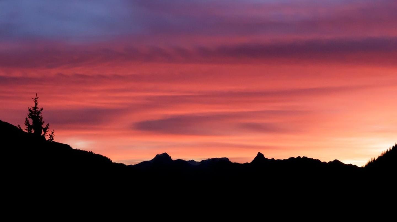 Pink skies |  © Austrian Tourist Board