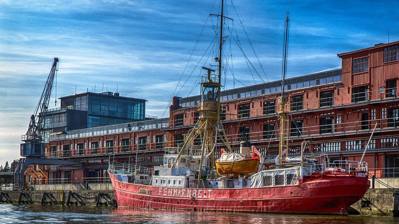 Lübeck port