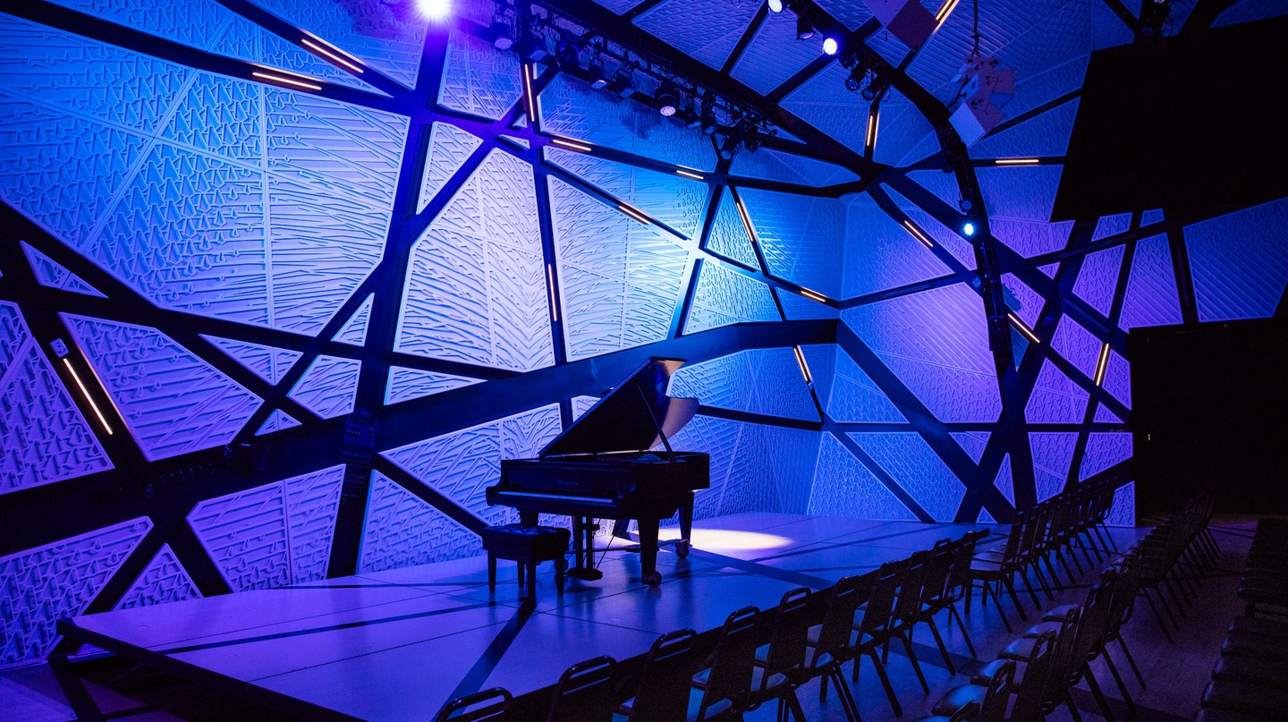 Interior of National Sawdust in Williamsburg