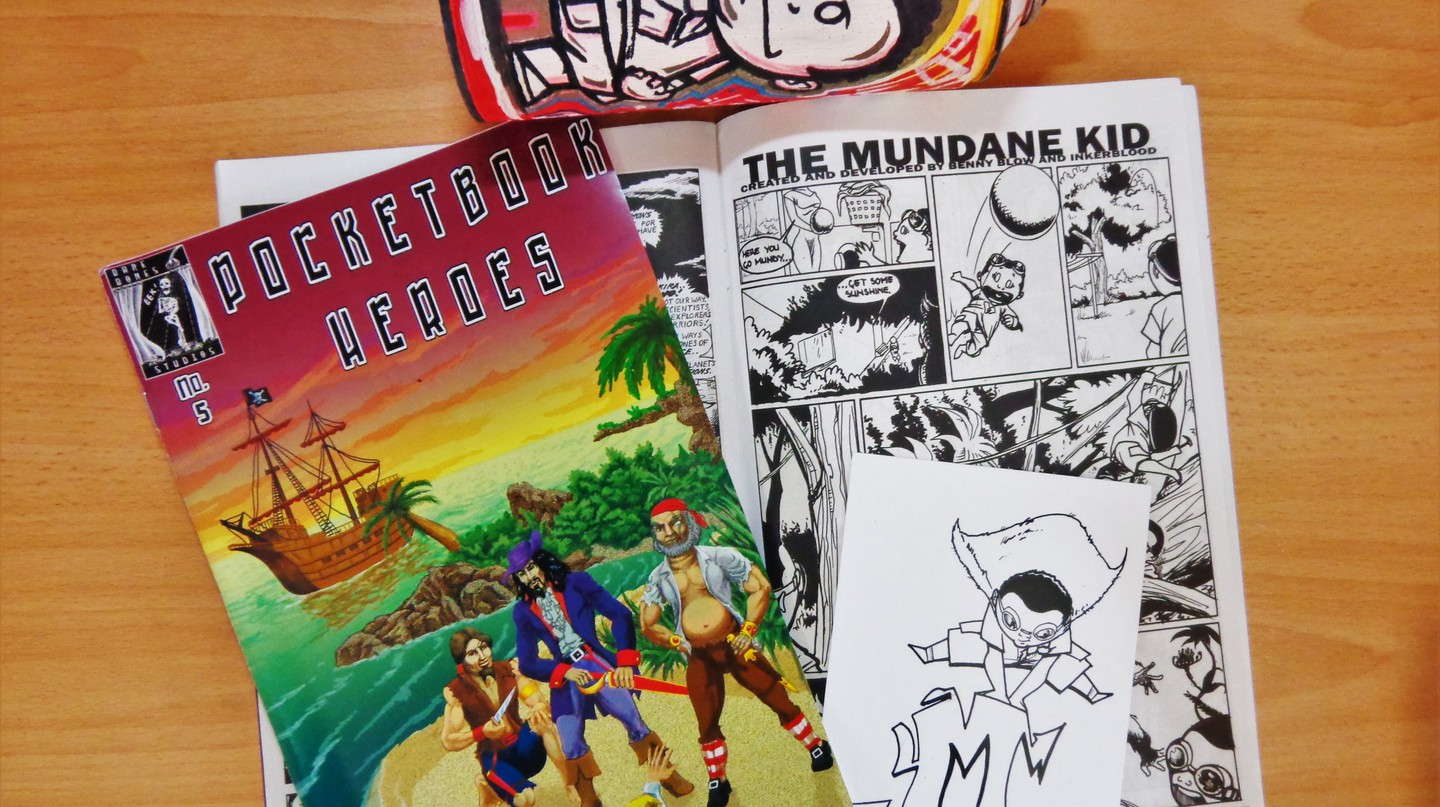 The Mundane Kid is a comic strip by Bwanga 'Benny' Kapumpa and London 'Inkerblood' Kamwendo