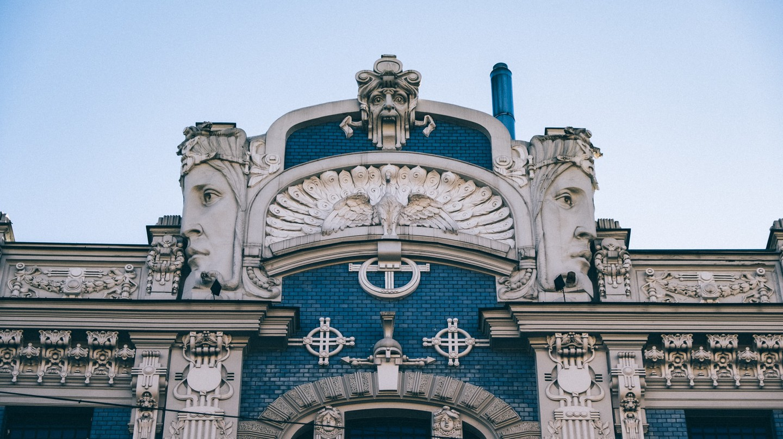 Detail of Riga's architecture