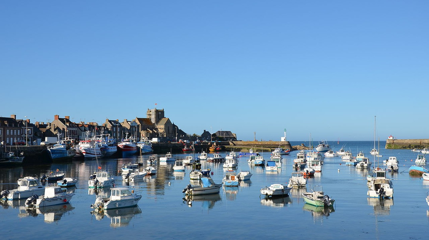 Beautiful Barfleur in Normandy