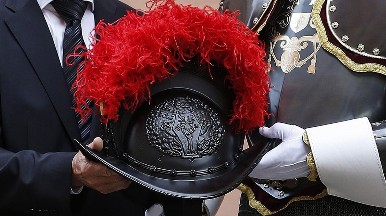 The new 3D-printed helmet