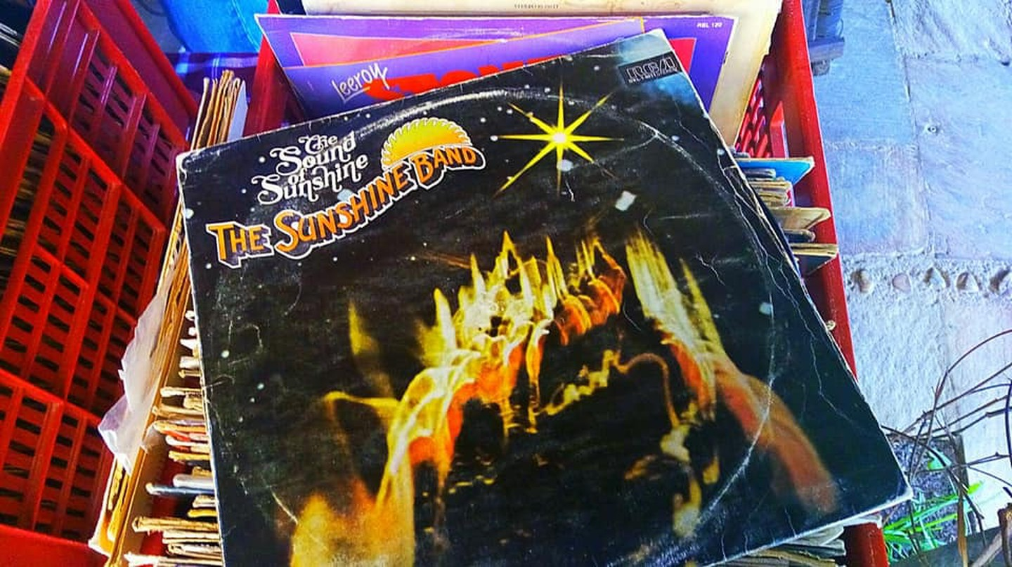 The Time Machine has various records for sale