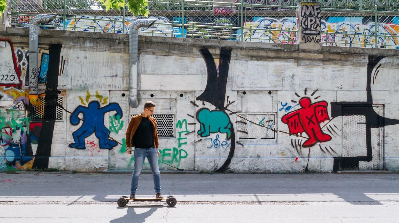 How Vienna's Riverside Has Been Transformed By Street Art