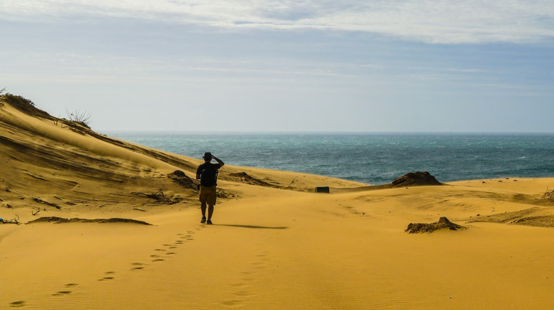 Sand dunes at Mui Dinh, Vietnam