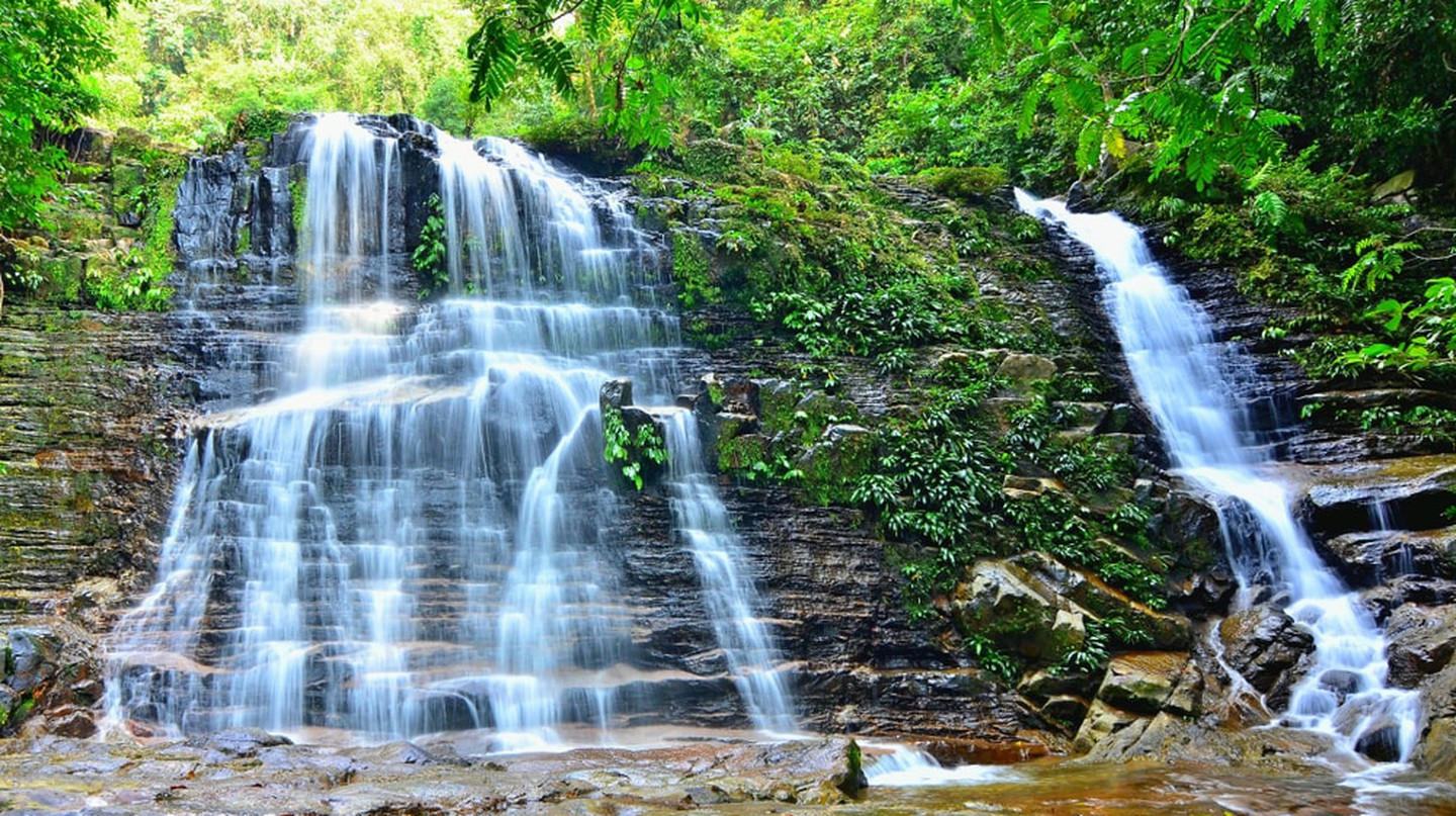 Waterfall in Kubah National Park