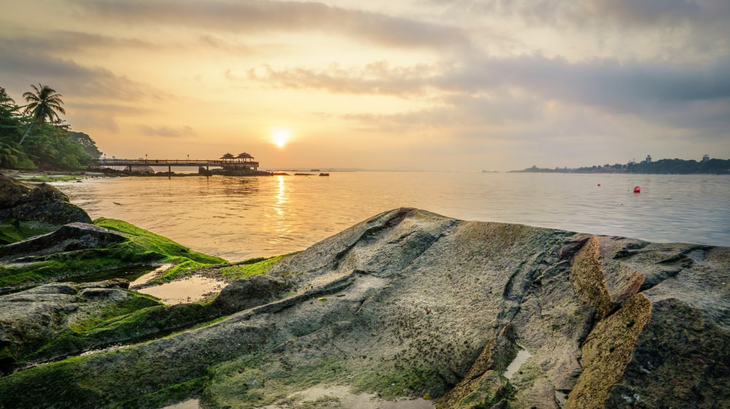 Pulau Ubin at dawn