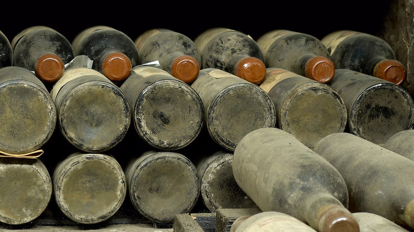 Rare wine is going up for auction in France