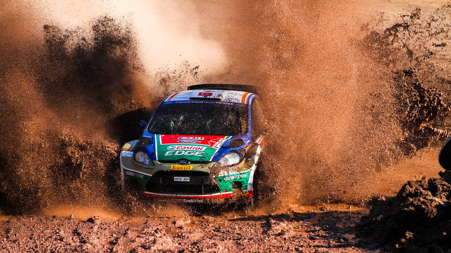 Rallying is a popular sport in Zambia