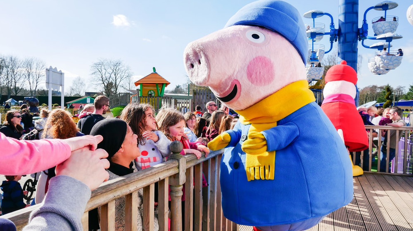 Peppa Pig, as seen here at Pegga Pig World in the U.K., is on China's censorship list