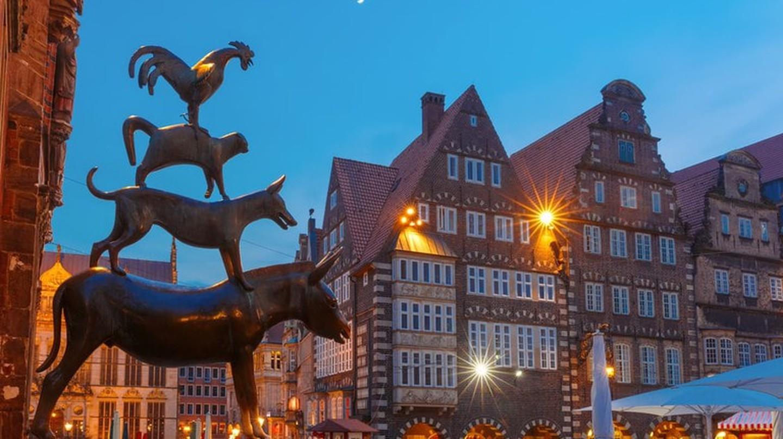 Bremen Town Musicians sculpture