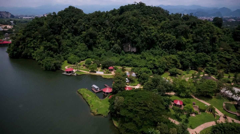 Gunung Lang recreational park near Ipoh