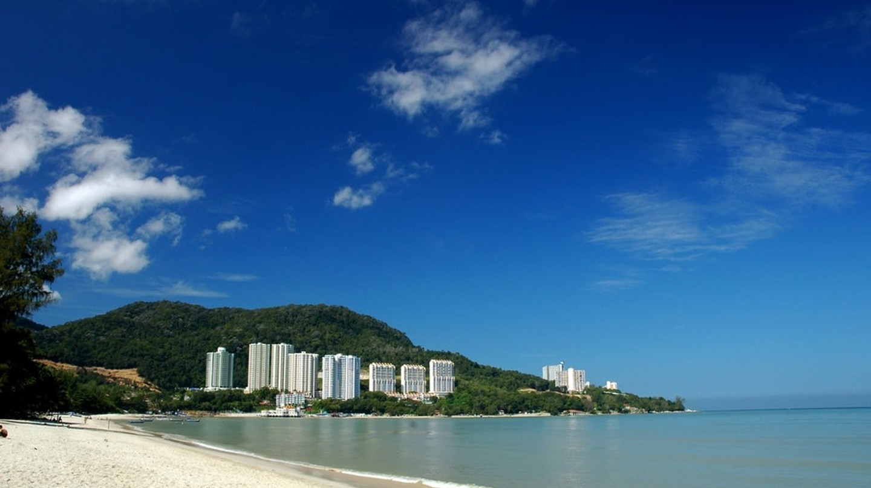 Tanjung Bunga Beach, Pulau Penang, Malaysia