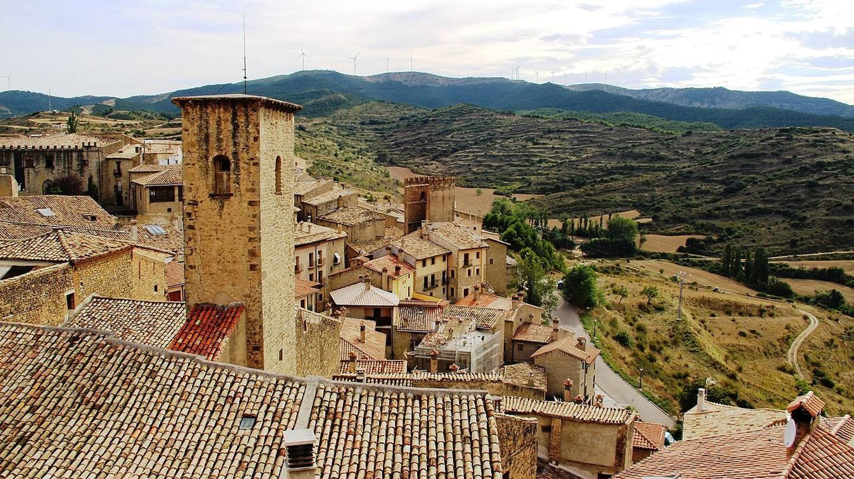 Sos del Rey Católico, Aragon, Spain
