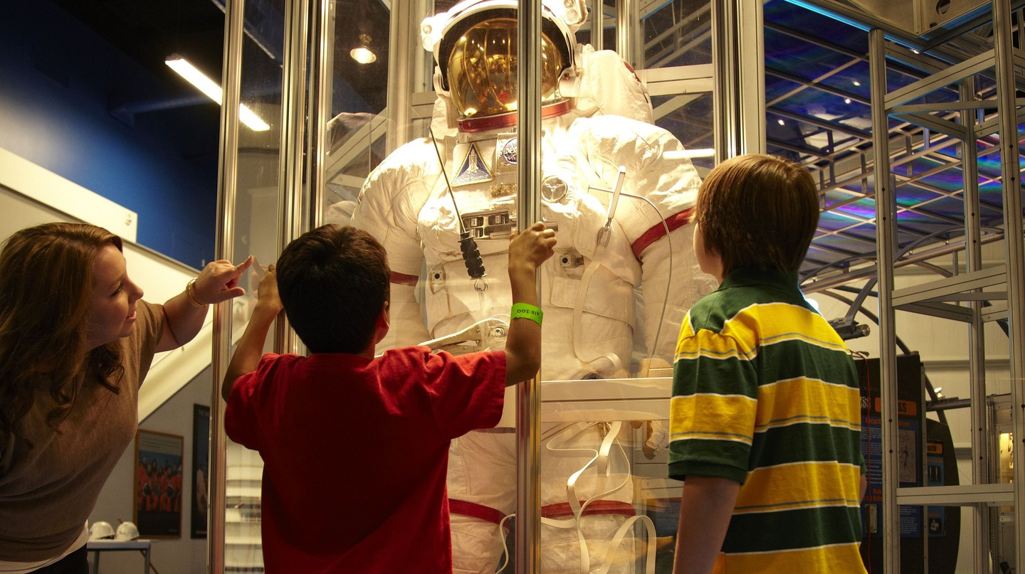 Space suit at the Air Zoo
