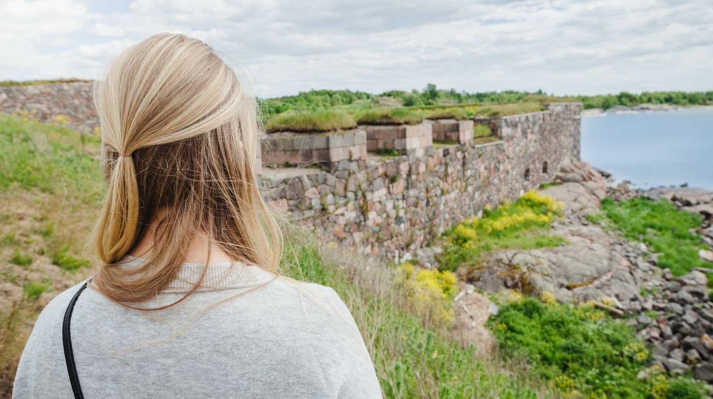 Spend a night in a Finnish hostel located on a Unesco World Heritage Site.