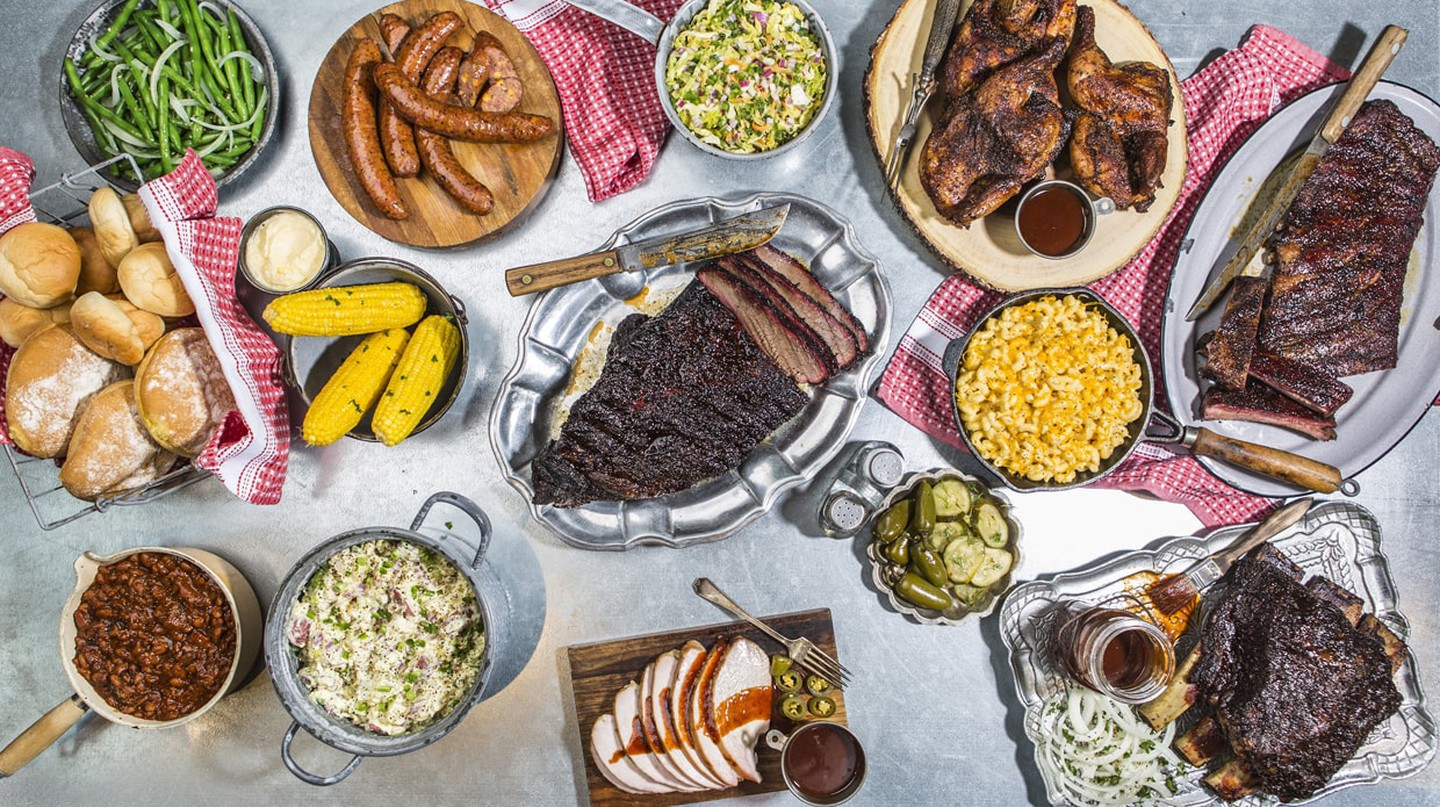 Ten50 BBQ has a wide selection of delicious barbecue meats and side orders.