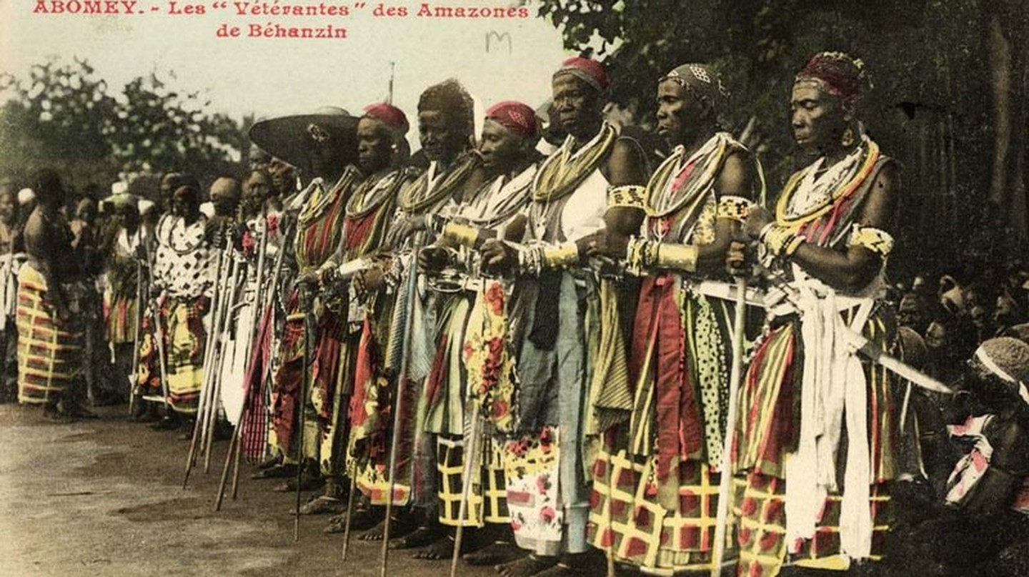 Veteran Amazons at Abomey