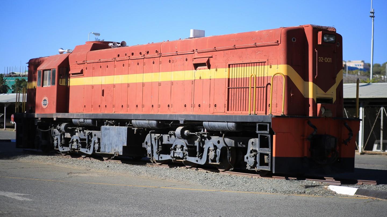The TransNamib train