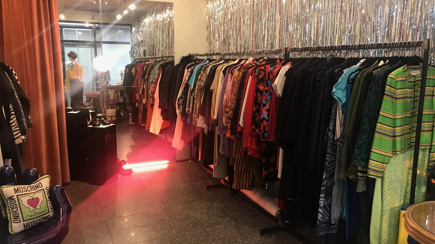Inside New York's downtown vintage boutique, James Veloria