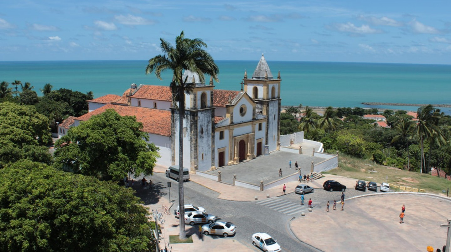 The historical town of Olinda is next to Pernambuco's coastline