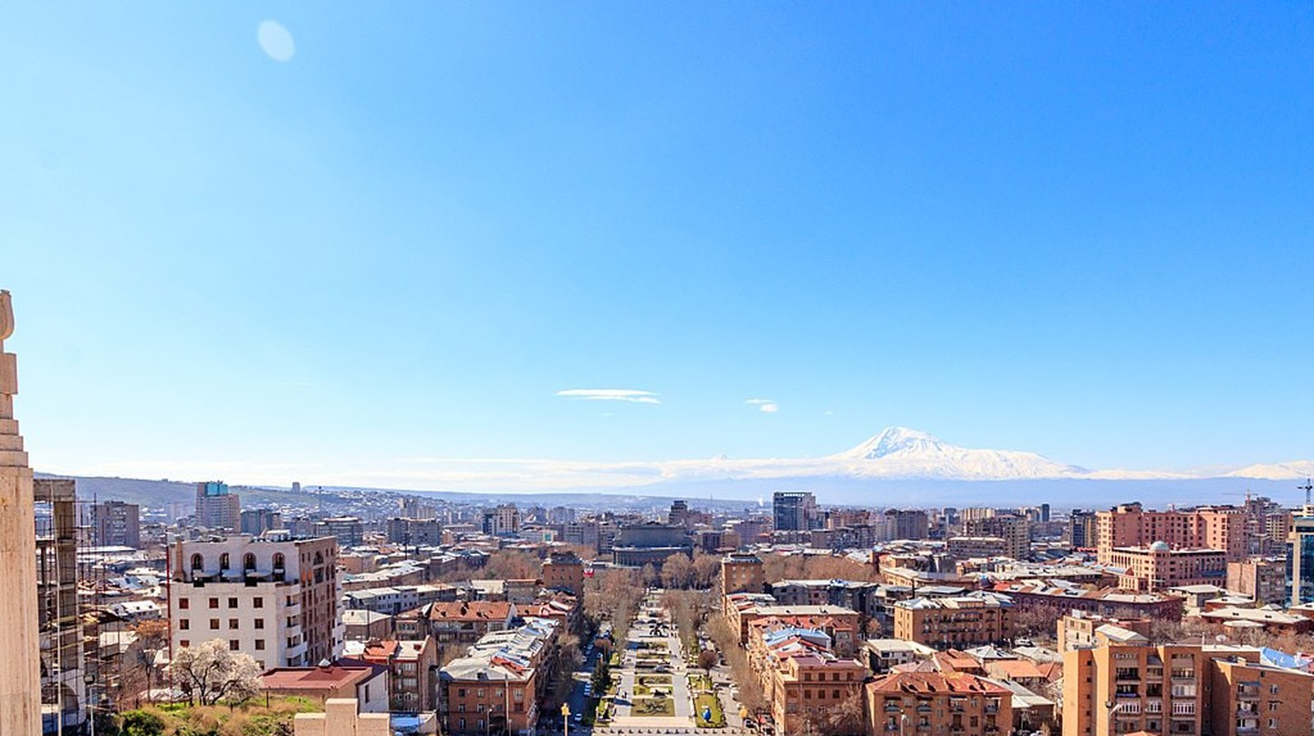 View of Yerevan