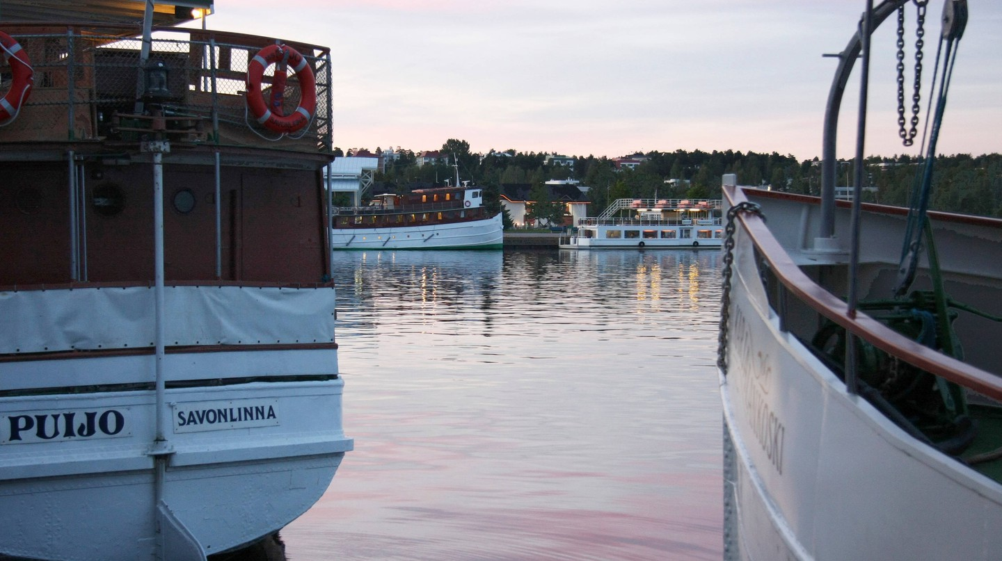 Kuopio is a cute harbour town to visit in Finland.