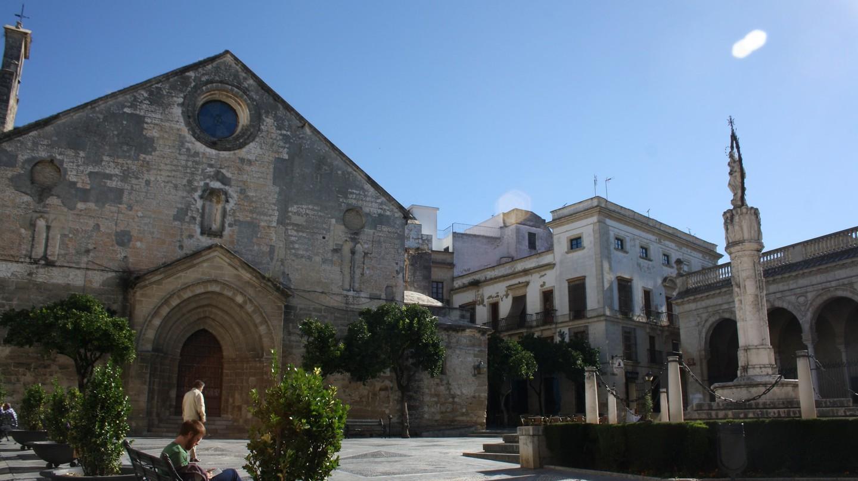 Plaza de la Ascunción, in Jerez de la Frontera