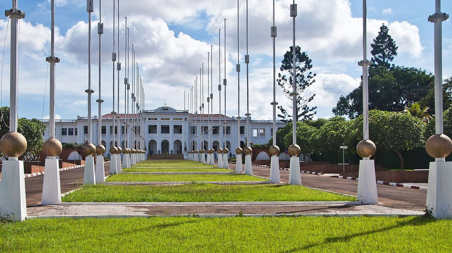 Cameroon's former presidential palace displays art from all over the country
