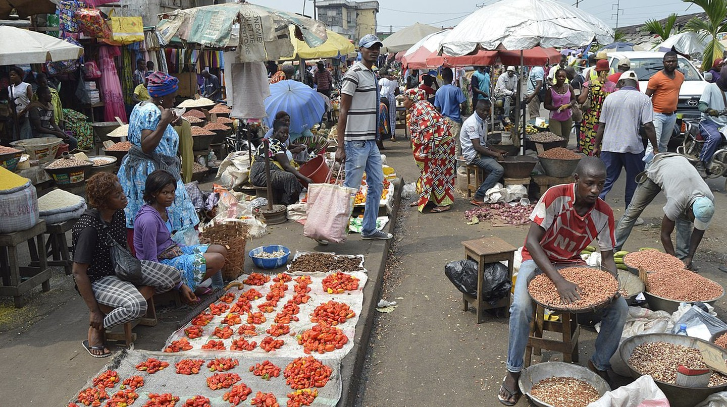 A market in Cameroon