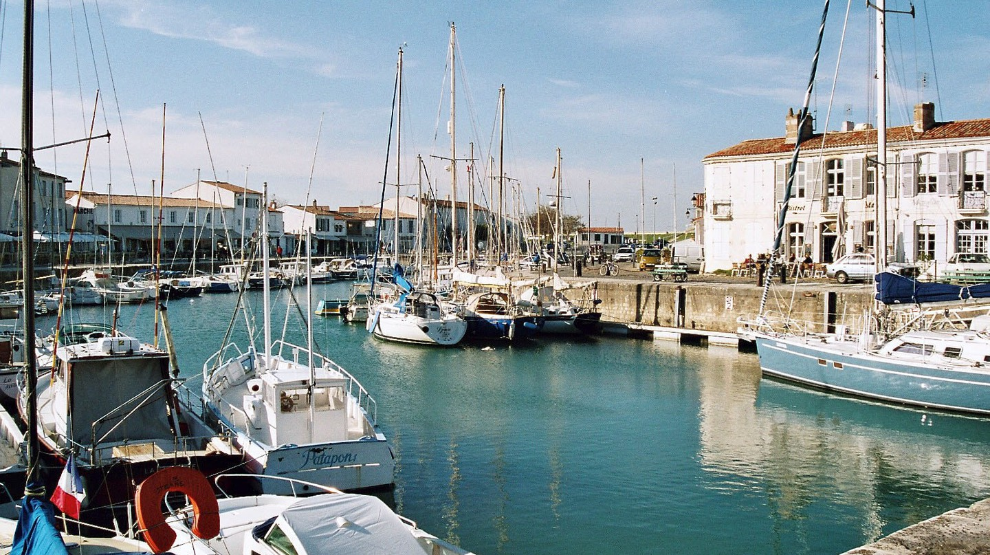 One of Ile de Ré's many picturesque marinas