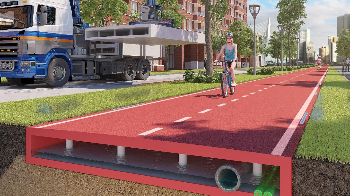 Other cities may commission the cycling paths in the near future