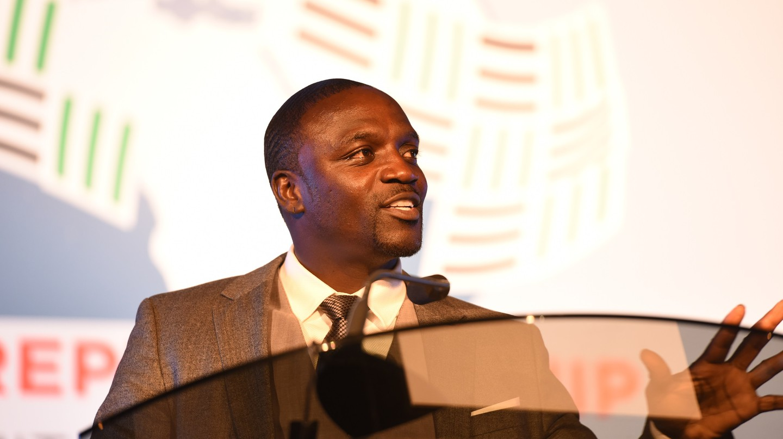 Akon at the Global Entrepreneurship Summit in Nairobi, Kenya, 2015