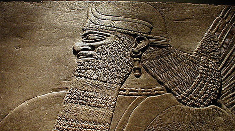 Detail of Sumerian Stele