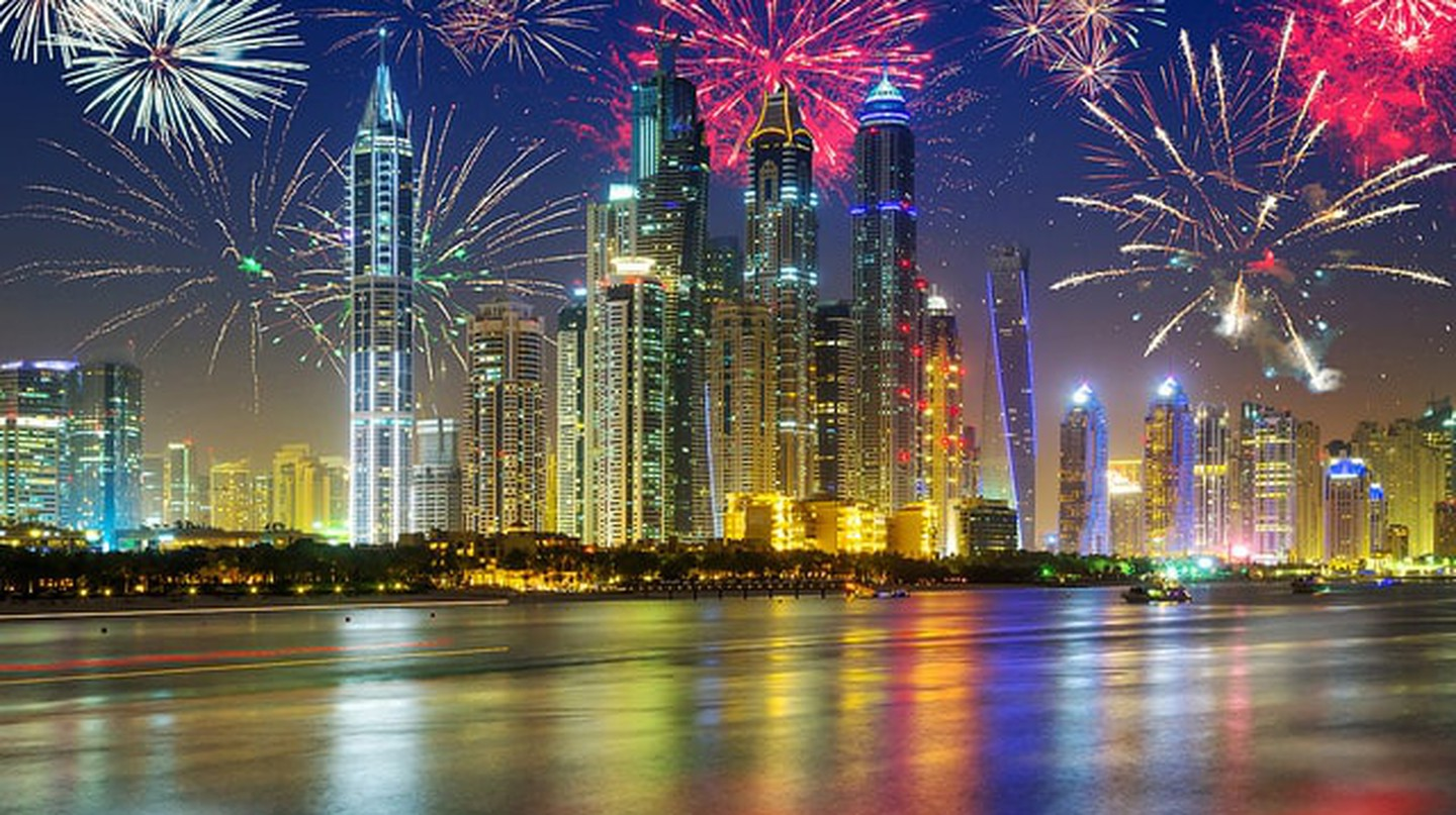 Head on down over to Yas Island this Eid weekend to witness Abu Dhabi's incredible firework display