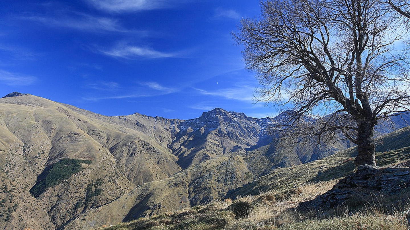 The Sierra Nevada natural park in southern Spain