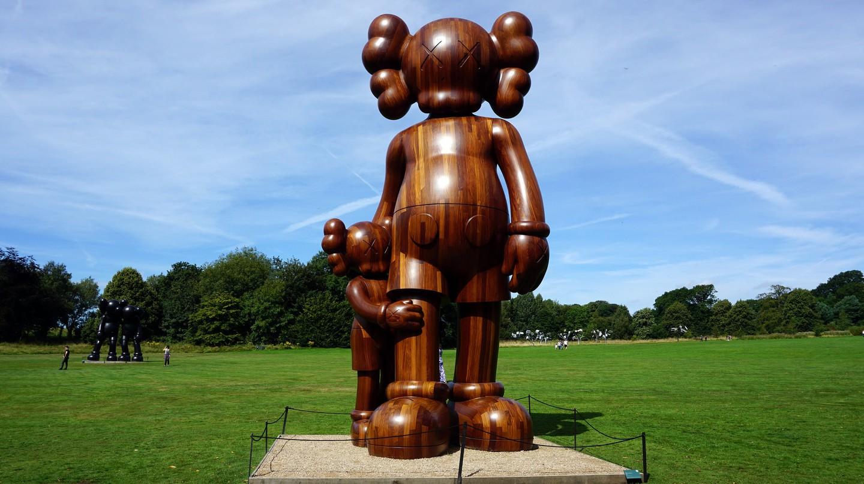 KAWS at Yorkshire Sculpture Park