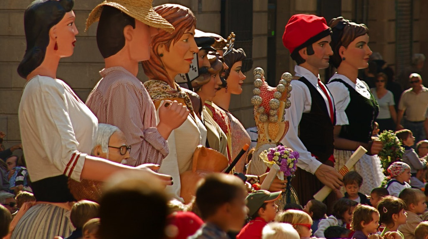 Procession of La Mercè festival