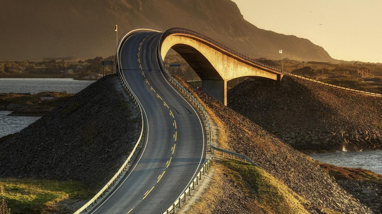 The Atlantic Road in Northwest Norway