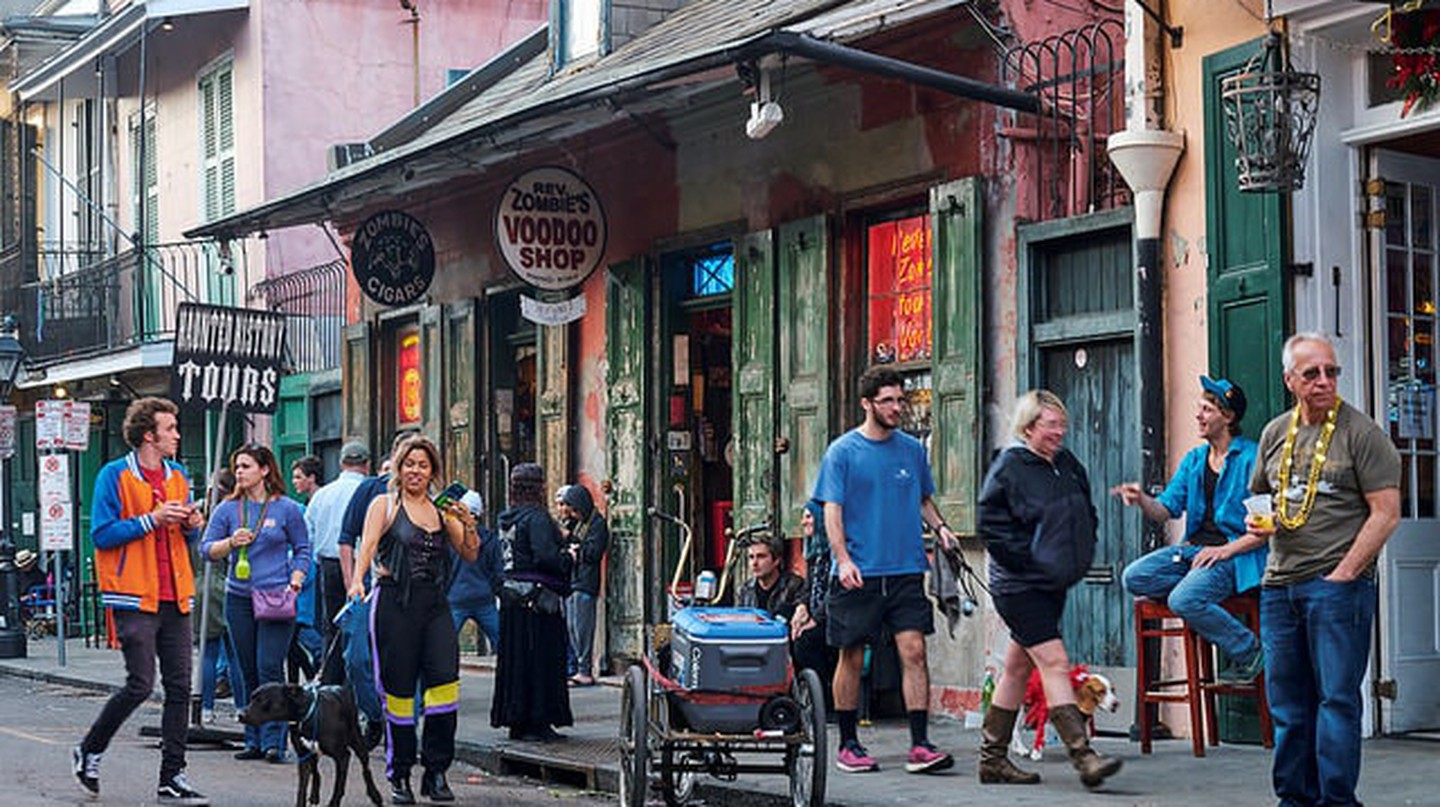 There's always something to experience in New Orleans