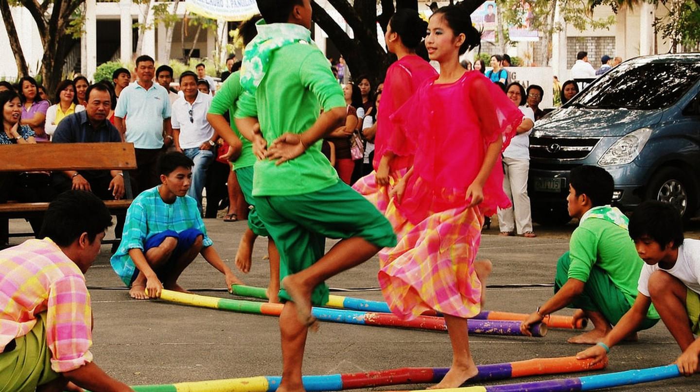 Dancing the Tinikling