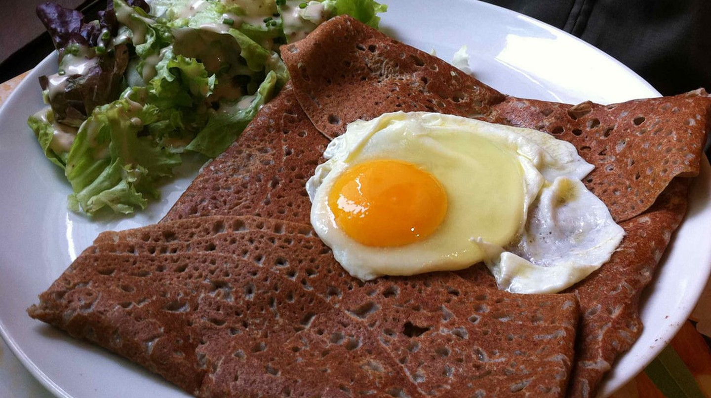 Delicious galette made from buckwheat | © Javier Leiva / Flickr