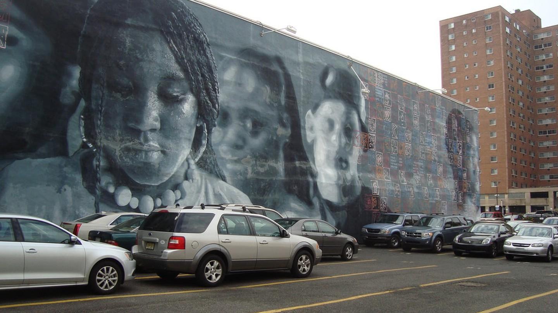 A mural in Philadelphia