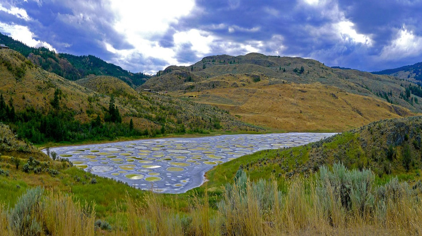 Spotted Lake, near Osoyoos, British Columbia
