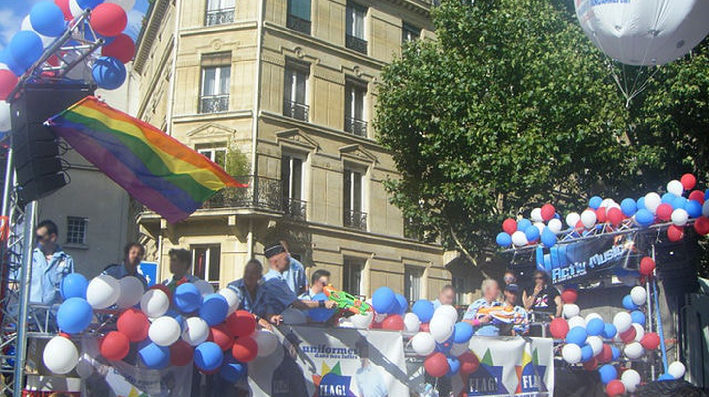 Gay Pride in Le Marais | ©  BellevueLove / WikiCommons