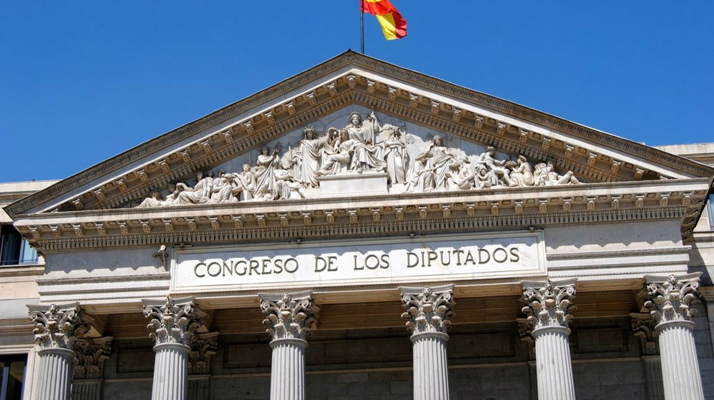 Spain's parliament in Madrid
